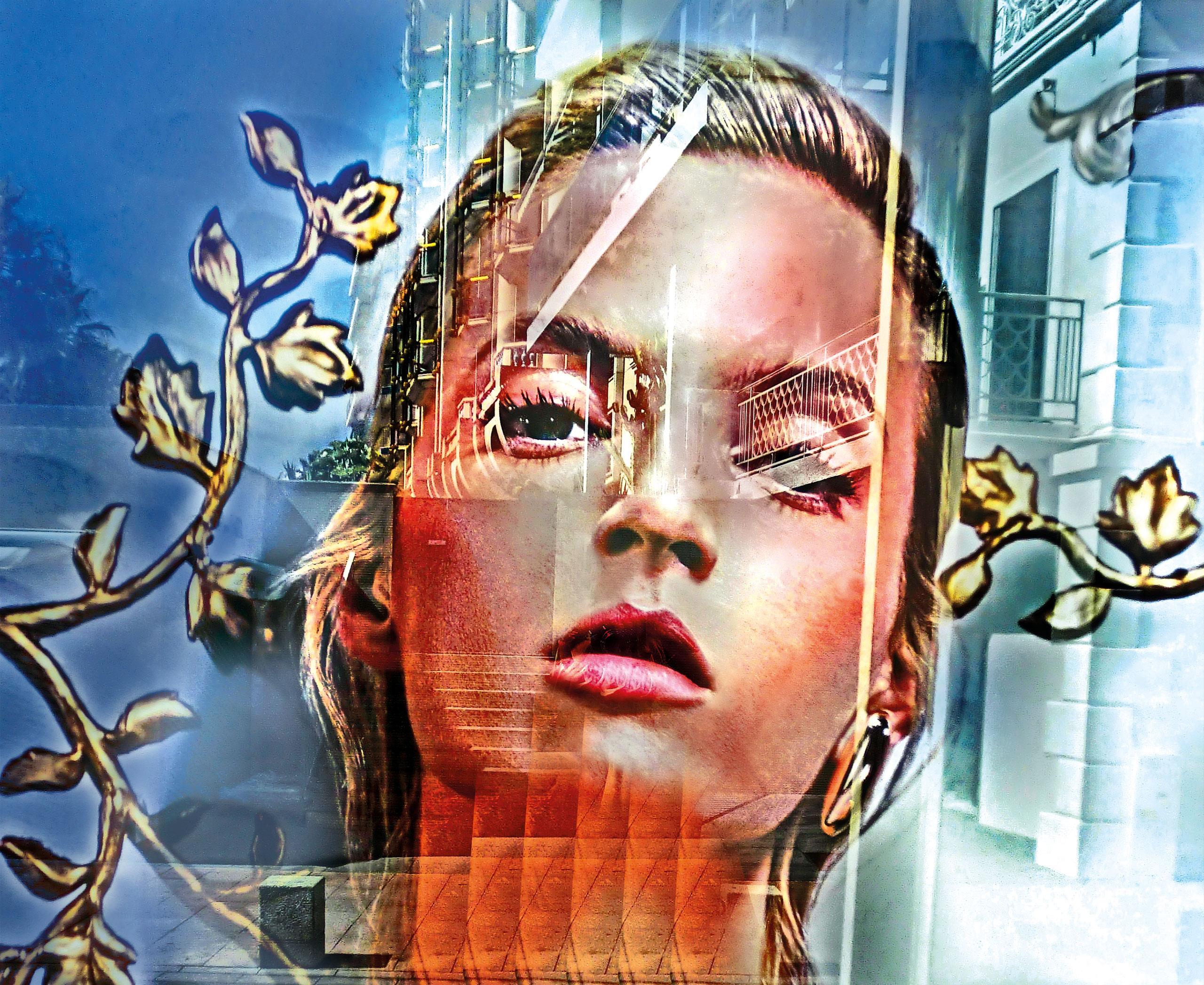 Spiegelung, Schaufenster, DIOR, Cannes