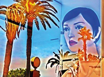 Spiegelung, Schaufensterpuppe, Cannes