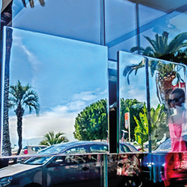 Schaufenster, Boulevard de la Croisette, Cannes