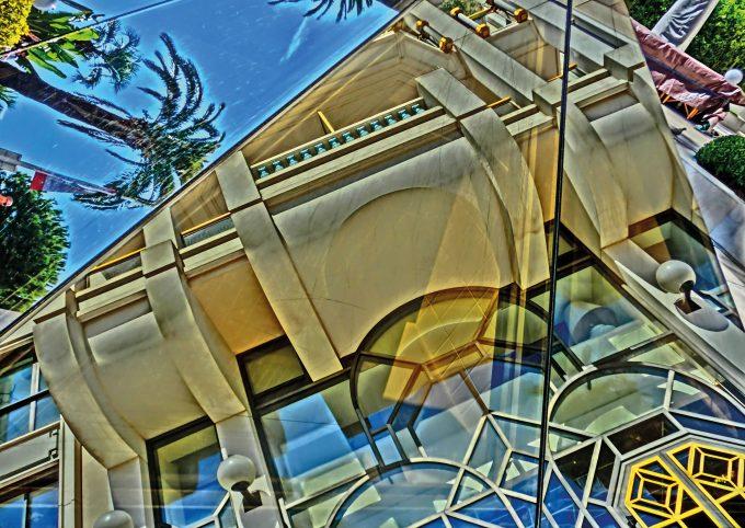 Spiegelung, Fassade, Cannes