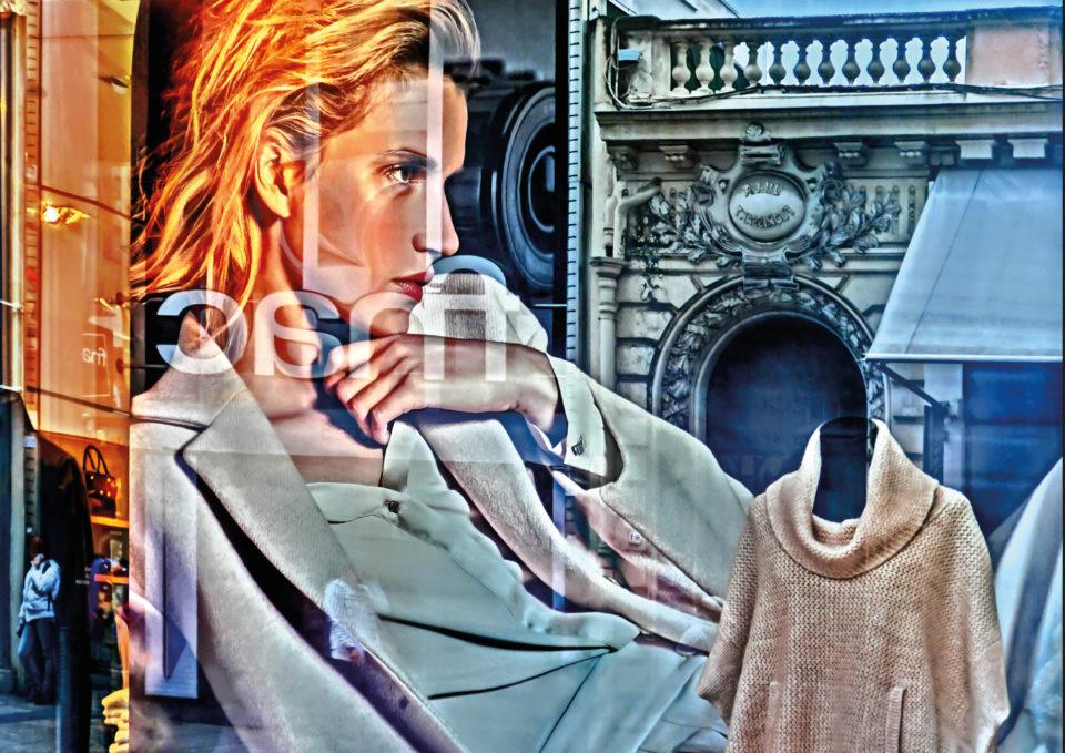 Postkarte: Vogue