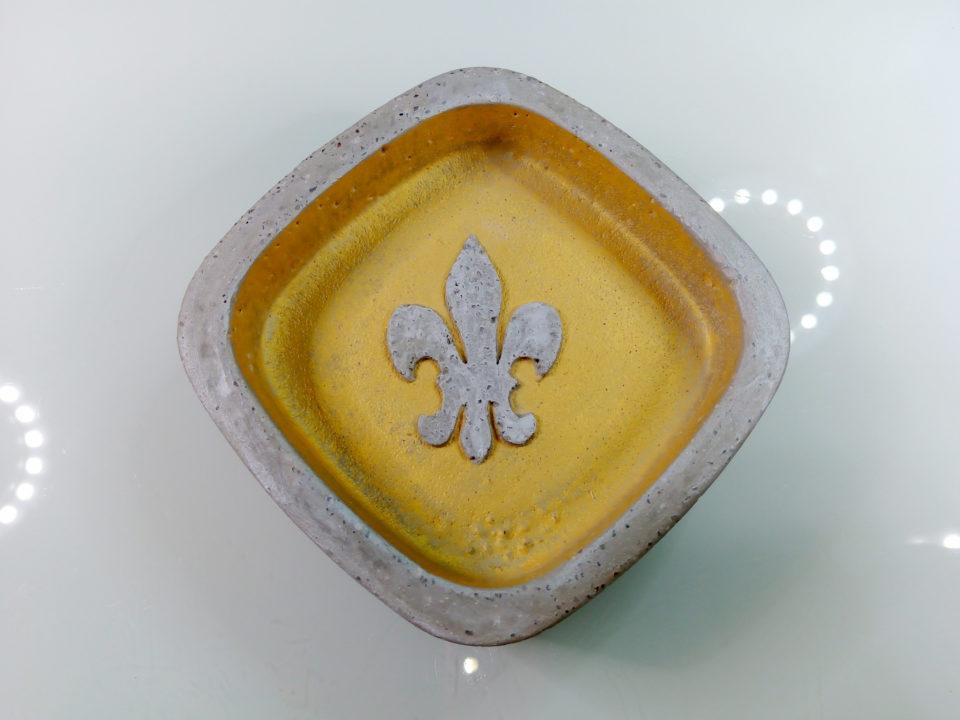 Seifenschale: Fleur-de-Lys